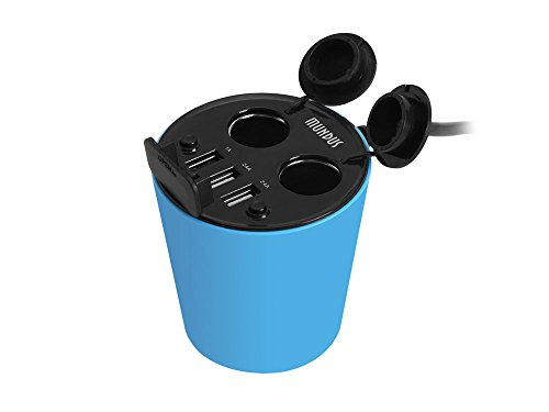 car cup holder power adapter - 9