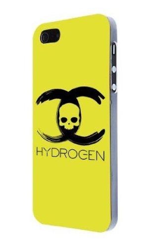 Benjamins Hydrogen Skull Hard Case für Apple iPhone 5 gelb