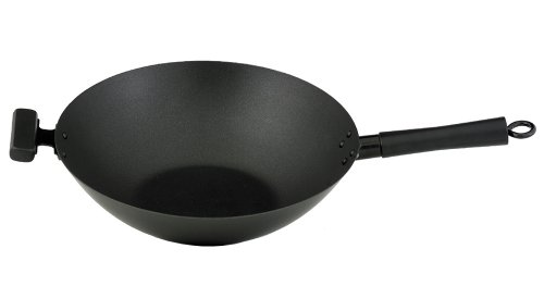 Helen Chen's Asian Kitchen 14-Inch Excalibur Nonstick Wok Stir Fry Pan