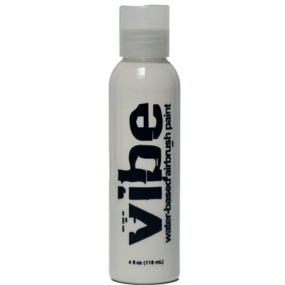 4oz White Vibe Face Paint Water Based Airbrush Makeup