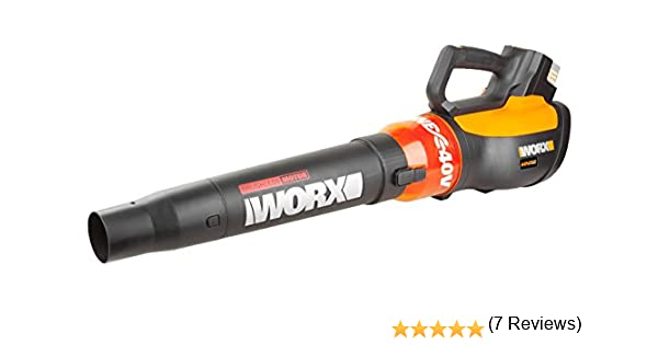 Worx wg569e.9 40 V batería Sopladora turbina, flujo de aire 10.5 ...