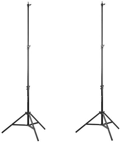 Yellow, 13 Flashpoint Pro Air-Cushioned Heavy-Duty Light Stand