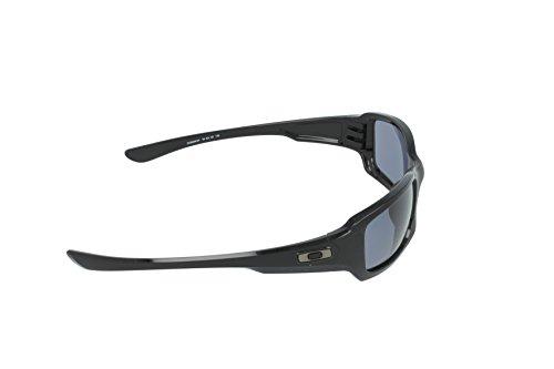 Grey S3 Polished Black de Oakley Gafas Fives Squared ciclismo aWwO7n