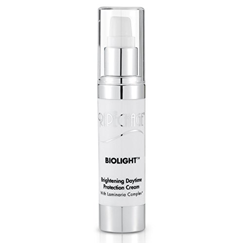 (Repechage Biolight Brightening Daytime Protection Cream with Laminaria Complex Anti Aging Corrective Face Moisturizer with AHA, Hyaluronic Acid, Salicylic Acid and Peptides 1 fl oz)