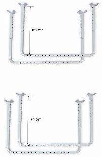 Adjustable Garage Ceiling Mount Storage Rack Kit HyLoft 80842-10 33 in x 34 in