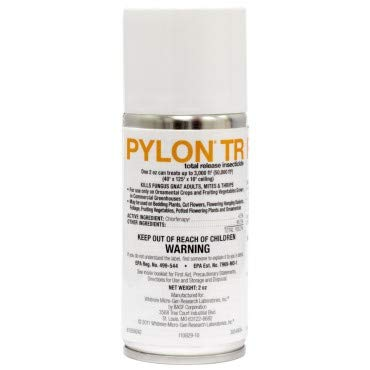 Pylon TR 2oz 24 PACK! total release Miticide/ Insecticide. NOT for sale in CA ()
