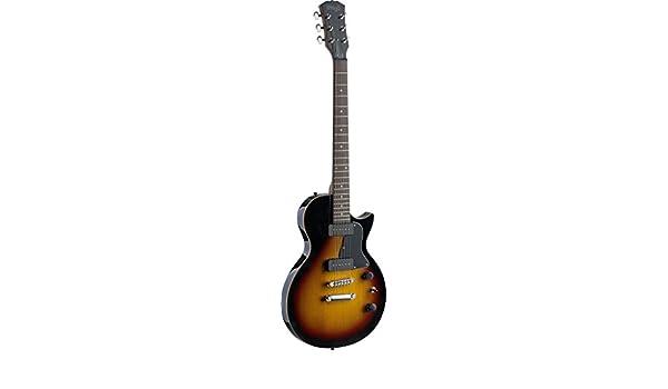 Stagg 25020646 SEL-P90SB - Guitarra eléctrica, Roca serie L, color del resplandor solar: Amazon.es: Instrumentos musicales