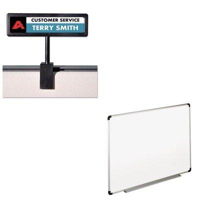 - KITAVT75334UNV43724 - Value Kit - Advantus People Pointer Cubicle Sign (AVT75334) and Universal Dry Erase Board (UNV43724)