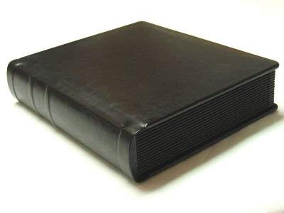 Art Style Albums Professional 8x10 All Black Wedding Album 20 Pages