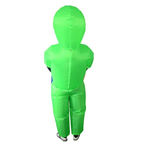 eegwbang Halloween Alien Et Traje Inflable Ghost Man Atrezzo ...