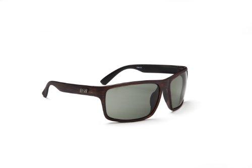 Optic Nerve Drago Sunglasses, Driftwood, Polarized Smoke - Glasses Nerve Optic Sun