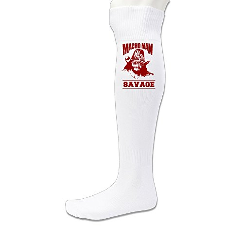 (Randy Savage Pro Wrestling WWF Knee Length Soccer Sports Casual Socks )