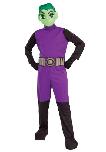 Big Boys' Titans Beast Boy Costume - S