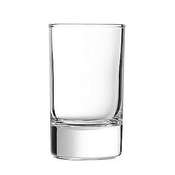 Juego de 6 vasos para vasos (22 cl Arcoroc Tabla Concentrado Soft ...