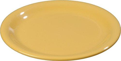- Carlisle 3300622 Sierrus Narrow Rim Melamine Salad Plates, 7.25