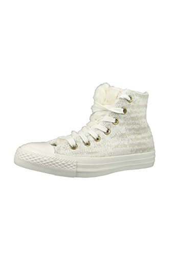Converse All Star Winter Knit Fur Hi W Calzado grey
