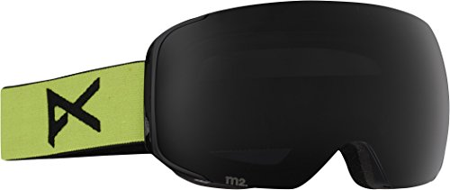 Anon M2 Snow Goggles Meringue with Dark Smoke and Blue Lagoon Lens