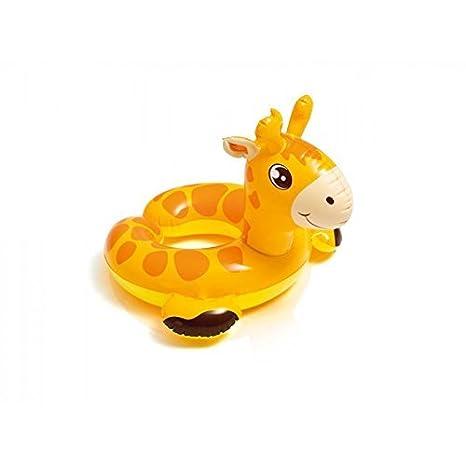 Niños Flotando Neumático Flotador / Neumáticos Flotantes Animales De Zoológico Jirafa: Amazon.es: Juguetes y juegos