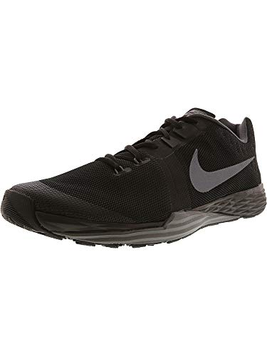 NIKE Men's Train Prime Iron DF Cross Training Shoe, Black/Me