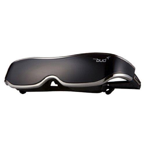[Black + MHL Gender] ACCUPiX Mybud 3D Viewer HMD Glasses 100 inch Head Mount Display Virtual Screen by Accupix