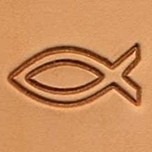 Tandy Leather 2D Fish Stamp 88512-00