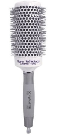 Scalpmaster 2 3/4 Nano Technology Ceramic Plus Ionic Hair Brush (Saloon Girl Hairstyles)