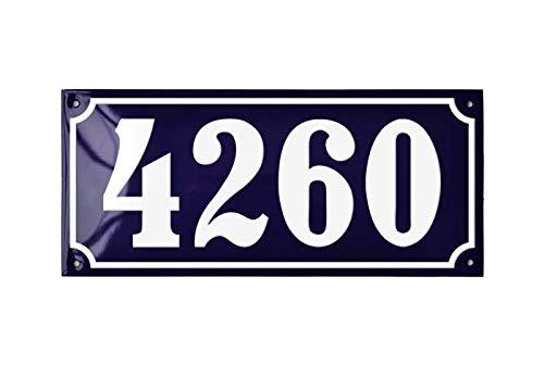 Ramsign Custom House Number - Classic European Address Plaque - Danish Design Home ()