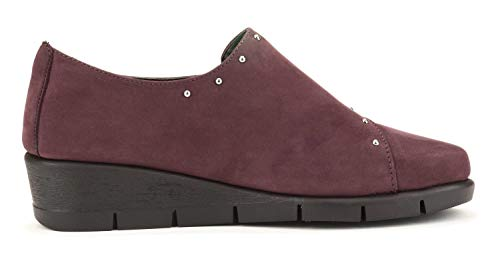 For Femme Studs Flexx Bordeaux Run Chaussure The ZwxqA01E0