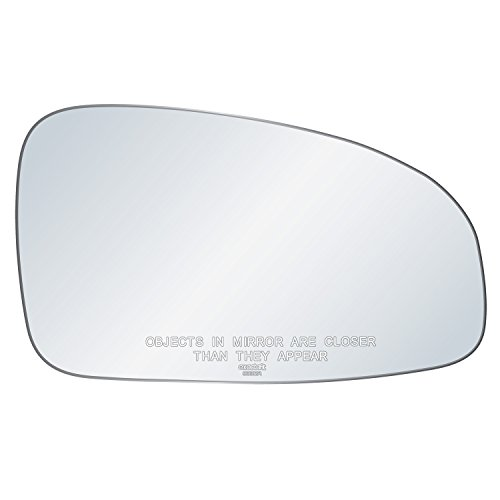 (exactafit 8332R Replacement Side Mirror Glass Lens fits Passenger Right Hand RH for Chevy Aveo Pontiac G3 Wave Suzuki Swift by Rugged TUFF)
