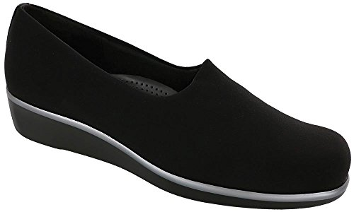Heel Bliss Shoes Women's San Slip Sas Shoe Black Low On Antonio n4q1Inpxw8