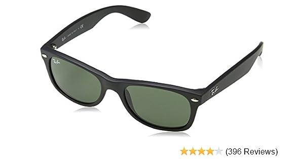 5de63d16fa Amazon.com  RAY-BAN New Wayfarer Sunglasses  Clothing