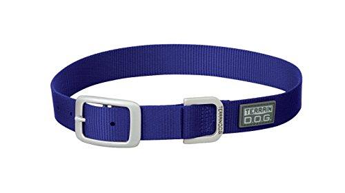 Terrain D.O.G. Nylon Single-Ply Dog Collar, 1