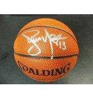 Signed Nash, Steve Spalding Mini Basketball autographed (Autographed Mini Spalding Basketball)