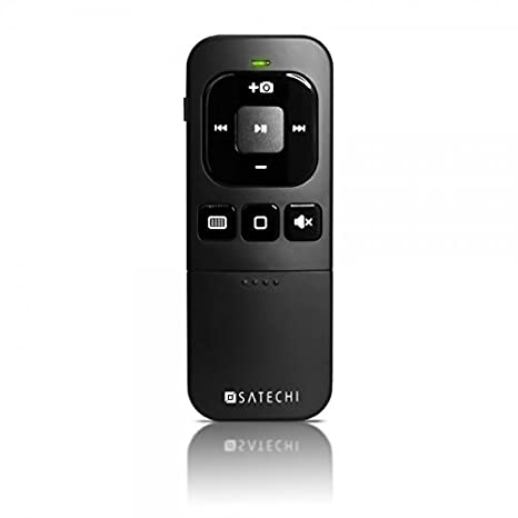 ebd27af8719 Satechi Bluetooth Multi-Media Remote Control - Compatible with 2017/2018  MacBook Pro,