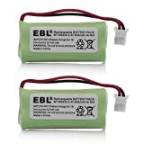 2 Pack of AT&T BT166342 Battery - Replacement for AT&T Cordless Phone Battery (Type B Connector)