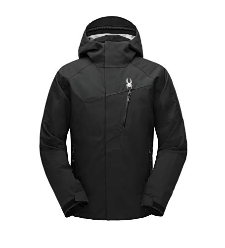 Amazon.com  Spyder Men s Jagged Shell Gore-TEX Waterproof Hooded Jacket for  Winter Sports  Clothing a79467d09