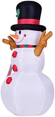 Kemper King hinchable de muñeco de nieve Navidad regalo ...