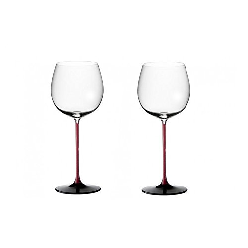 Riedel Sommeliers R-Black Series Leaded Crystal Montrachet Wine Glass, Set of 2 ()