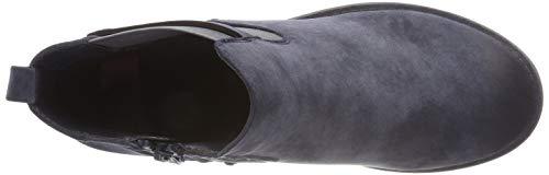Blu Stivali Donna 14 pazifik Rieker 96864 Chelsea qzT5gIw