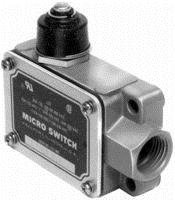 MICROSWITCH BAF1-2RN18-RH LIMIT SWITCH, WOBBLE COIL SPRING LEVER, SPDT, LIMIT SWITCH ACTUATOR:WOBBLE COIL SPRING, CONTACT CONFIGURATION:SPDT, CONTACT CURRENT AC MAX:20A, CONTACT VOLTAGE AC MAX:480V, - Rh Switch Limit