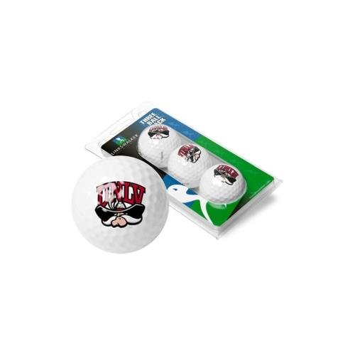 NCAA Las Vegas Rebels - 3 Golf Ball Sleeve