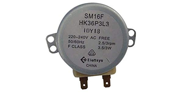 Motor Bandeja 220 - 240 V 2.5/3r.p.m 3.5/3 referencia ...