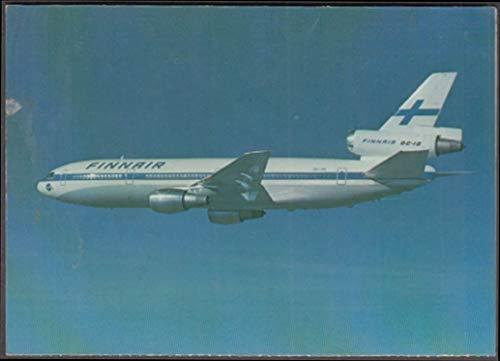 - Finnair Airlines Douglas DC-10 in-flight menu/postcard 1970s