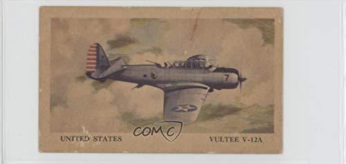 Vultee V-12A Ungraded COMC Good to VG-EX (Trading Card) 1940 Tydol Aeroplane Series - [Base] #40