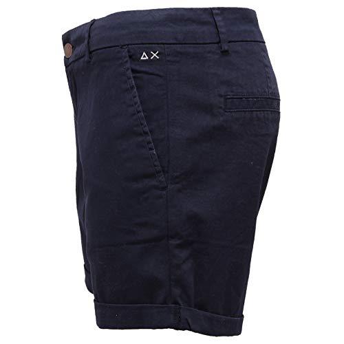 Pantalone Corto Woman Short Sun Blu Blue Pant Donna 68 2631x Jeans BtwwEqp
