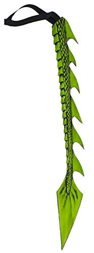 Forum Novelties Men's Standard Medieval Fantasty Dragon Tail, Green, Standard