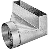 Southwark SWBA2105 2x10x5'' Galvanized Sheet Metal Angle Boot