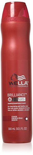Wella Professionals Brilliance MicroLight Crystal Complex Shampoo for Fine to Normal Colored Hair 300ml