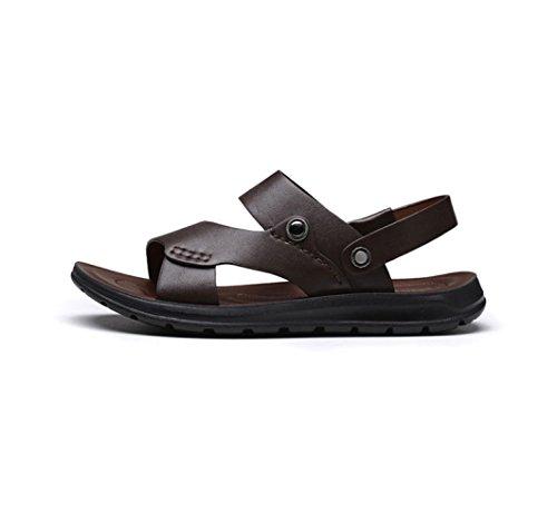 para para Sandalias Hombres Hombres Brown Casuales Y para Pantuflas Zapatos Playa Transpirables Sandalias aSq8drBSw
