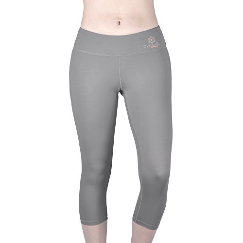 Dynamic Athletica Compression Capri Leggings For Women/Slimming Yoga Pants/Tights & Workout Clothes (X-Large, ()